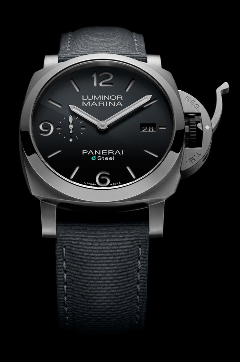 Immagine di PANERAI Luminor Marina eSteel™ Grigio Roccia 44 mm REF. PAM01358