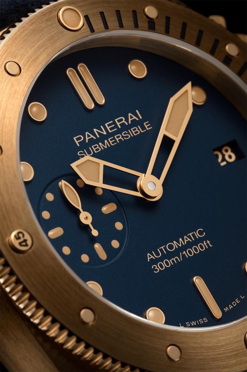 Immagine di PANERAI Submersible Bronzo Blu Abisso 42 mm REF. PAM01074